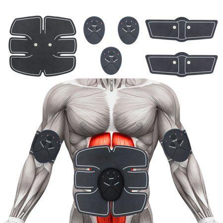 muscle toner abdominal toning belt ems abs trainer