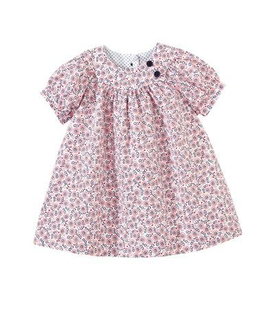 Baby girl Liberty print cotton blouse