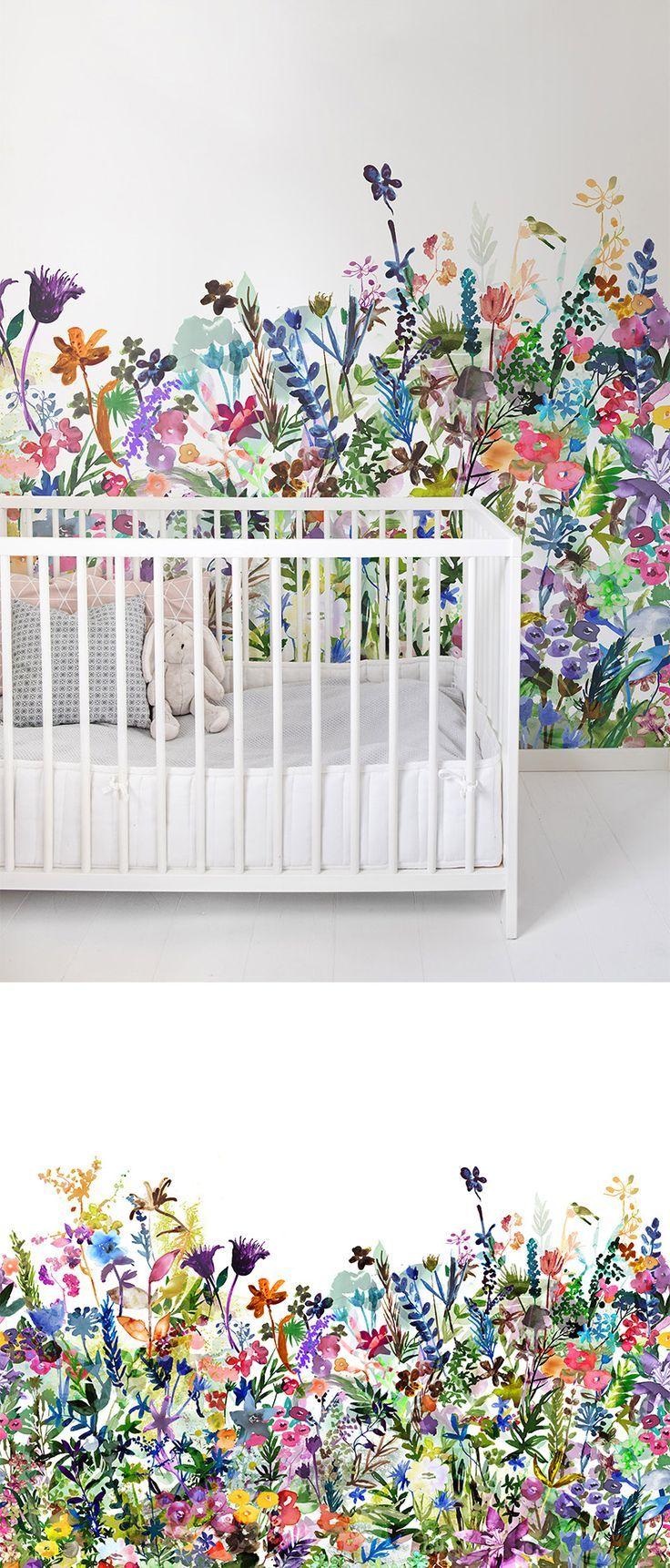 May Meadow. Nursery WallpaperWallpaper ForNursery Wall MuralsWallpaper  DesignsWallpaper IdeasChild RoomBaby ... Part 72