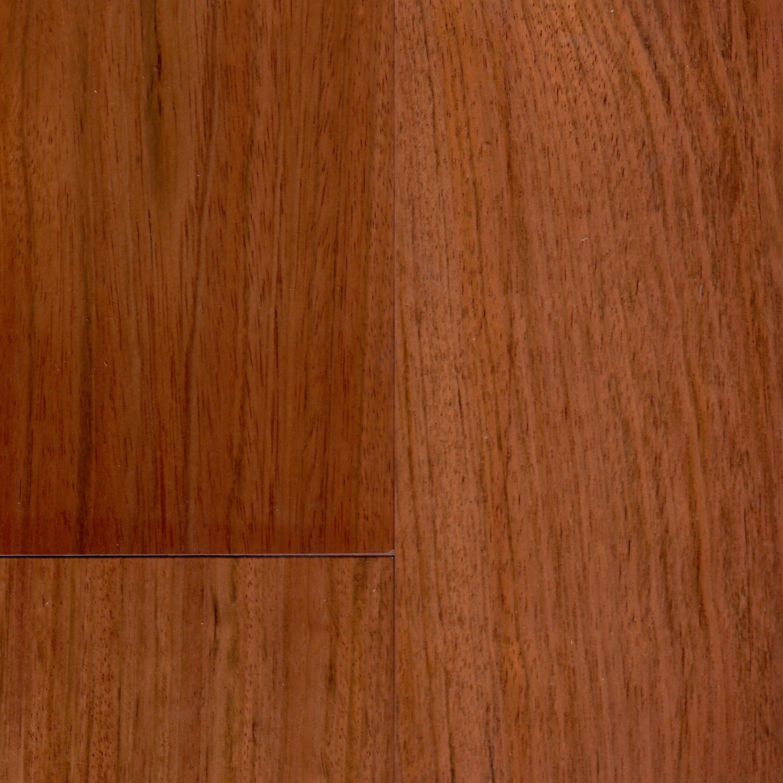 """Easoon Usa 5 Engineered Manchurian Walnut Hardwood: Brazilian Cherry Torowood 5"""" X 3/4"""" Solid Natural Clear In"""
