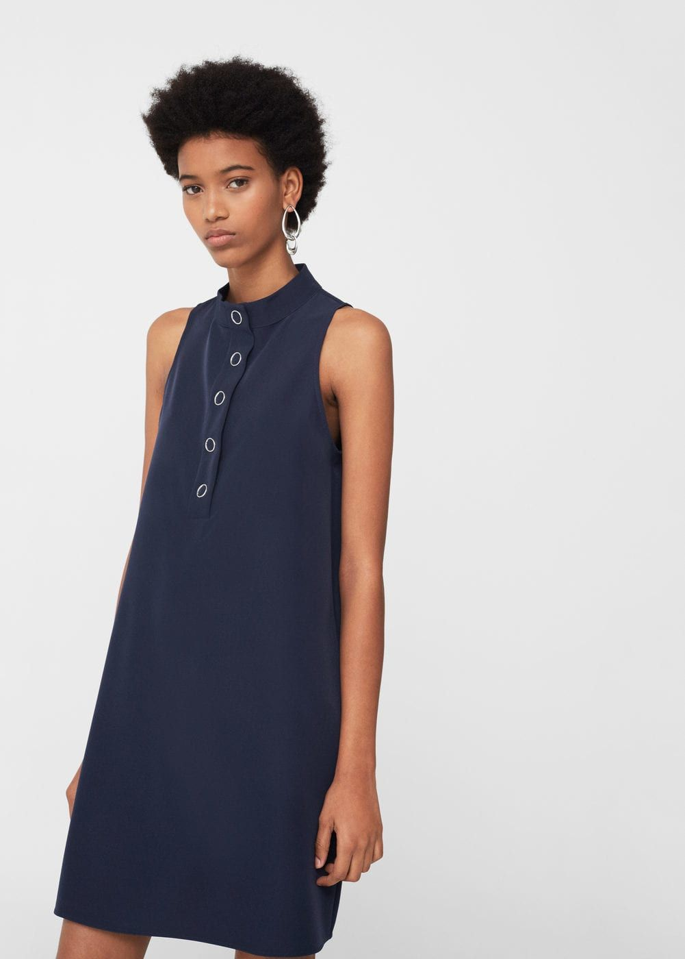 Robe à boutons - Femme   shopping   Pinterest 339aebdfaf9