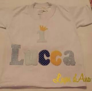 Lucca 1 aninho