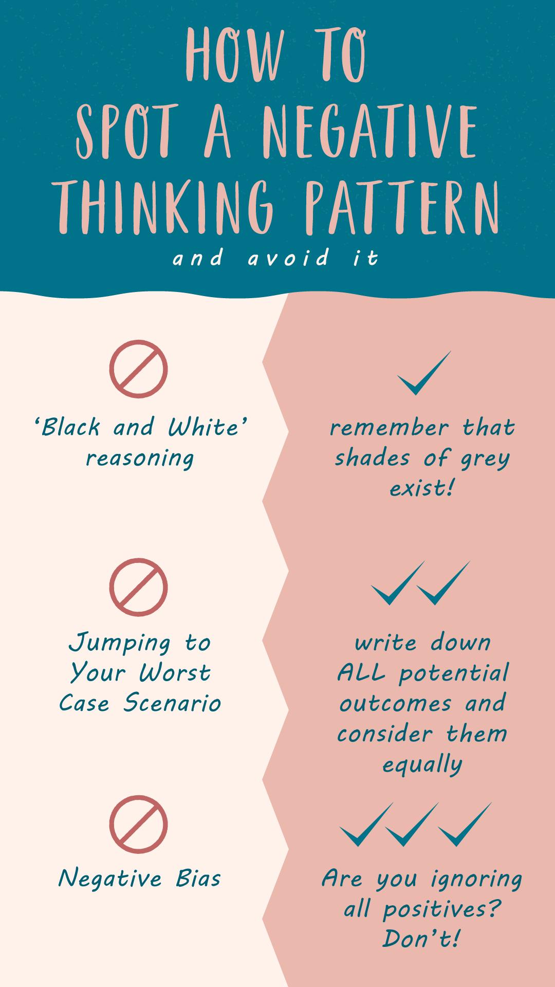 Stop that Negative Thinking Pattern