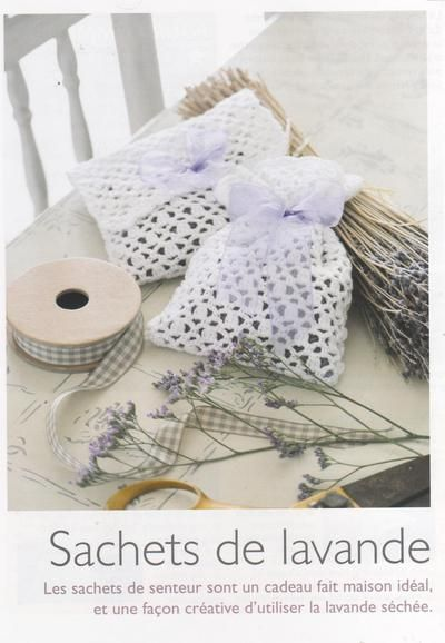 blog de crochet facile crochet facile pour tous sachet de lavande ti i leri crochet. Black Bedroom Furniture Sets. Home Design Ideas