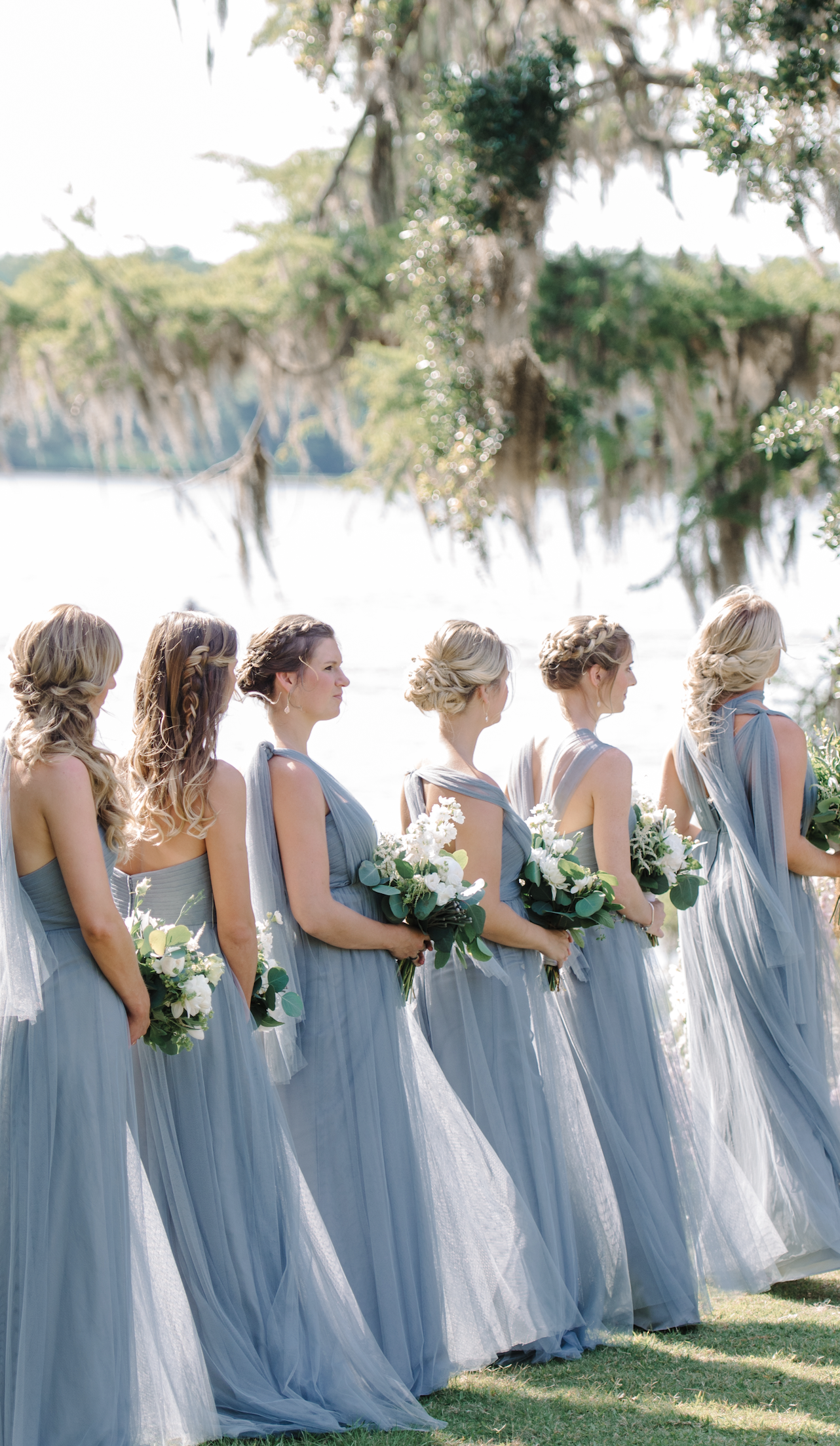 Jenny yoo bridesmaids annabelle dress in mayan blue features a