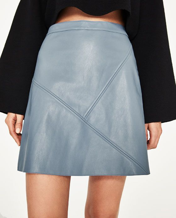 747c3af4e3 A-LINE SKIRT - Available in more colours | sewing inspi | Leather a ...