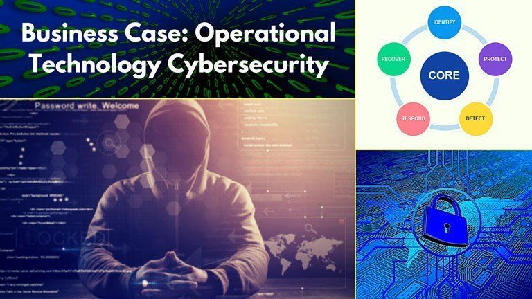 The Business Case For Operational Technology Cybersecurity Cyber Security Business Case Business Continuity