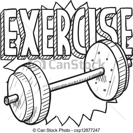 Eps Vector Of Weight Workout Sketch Doodle Style Gym Workout Or Gym Workouts Sport Illustration Doodles