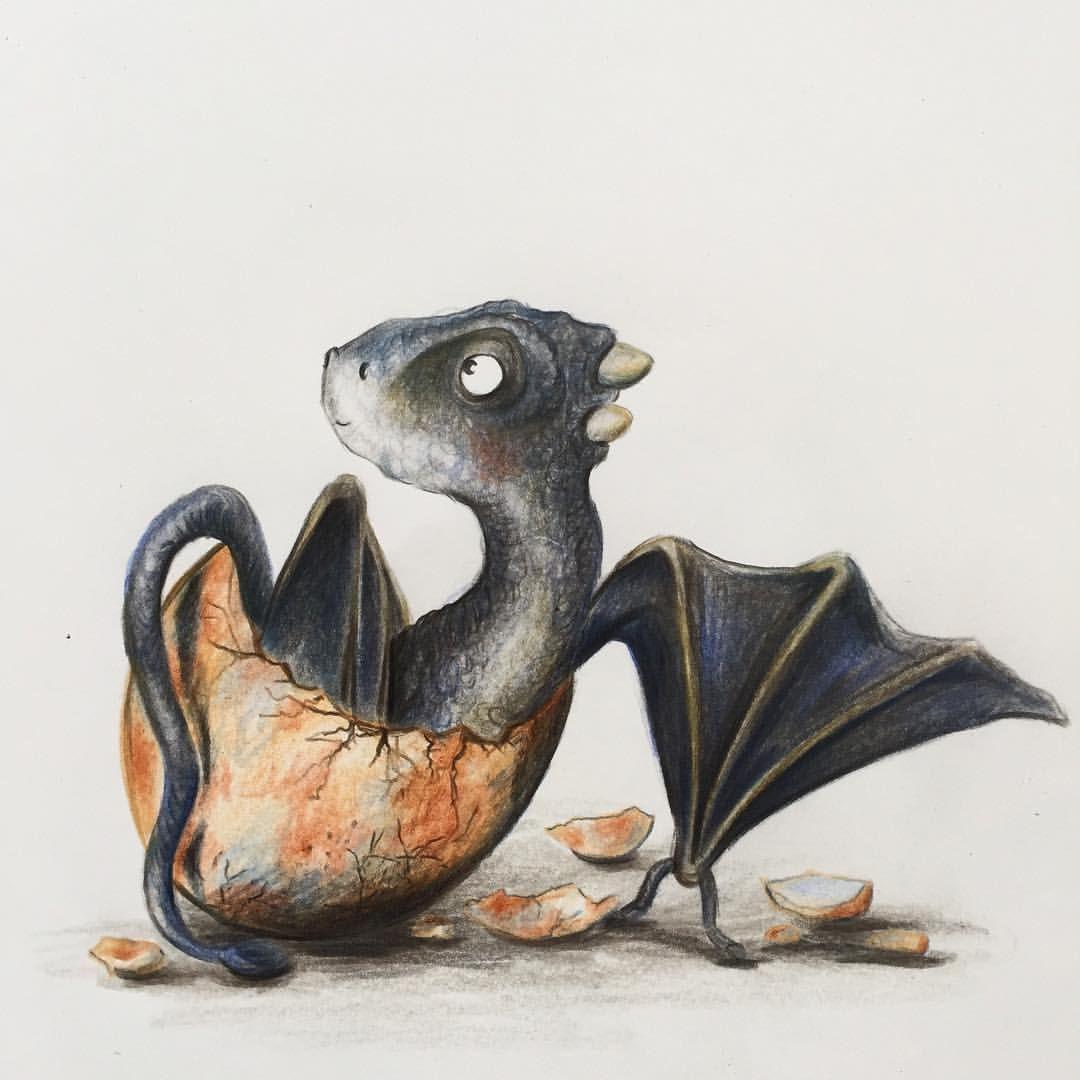 Дракон хагрида норберт картинки