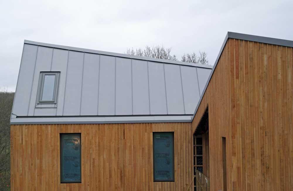 Zinc Roof In Hadlow Down