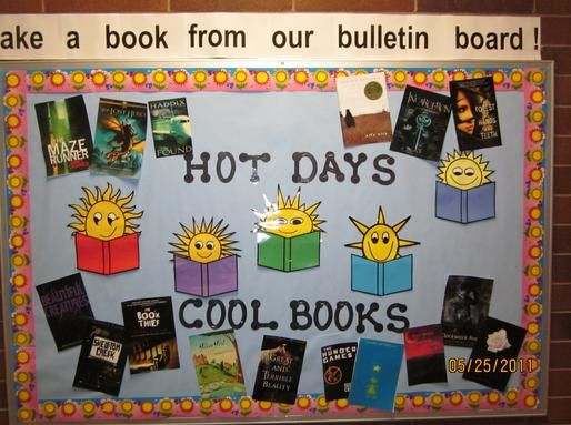 Middle School Reading Classroom Decorations : School library bulletin board ideas albion middle