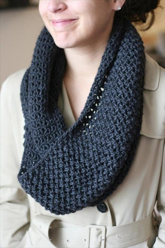 27 Quick & Easy Crochet Scarf | Infinity scarf knitting ...