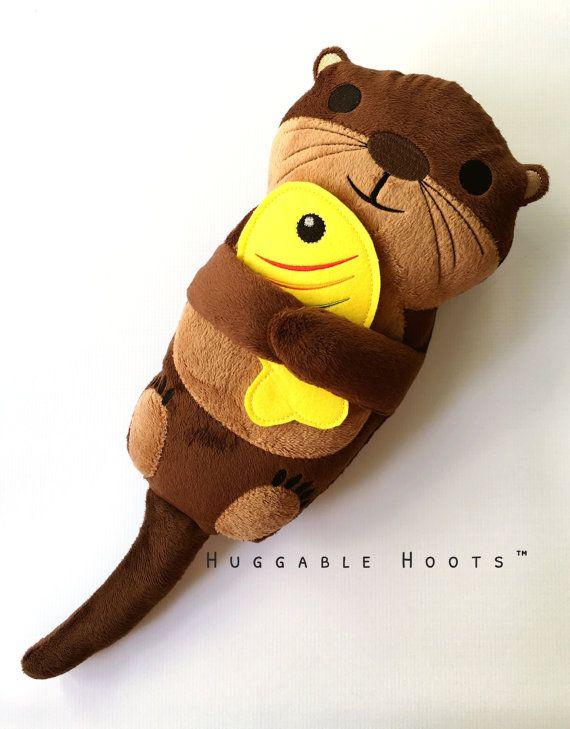 Plush Otter Stuffed Otter River Otter Sea Otter | filzfigur ...