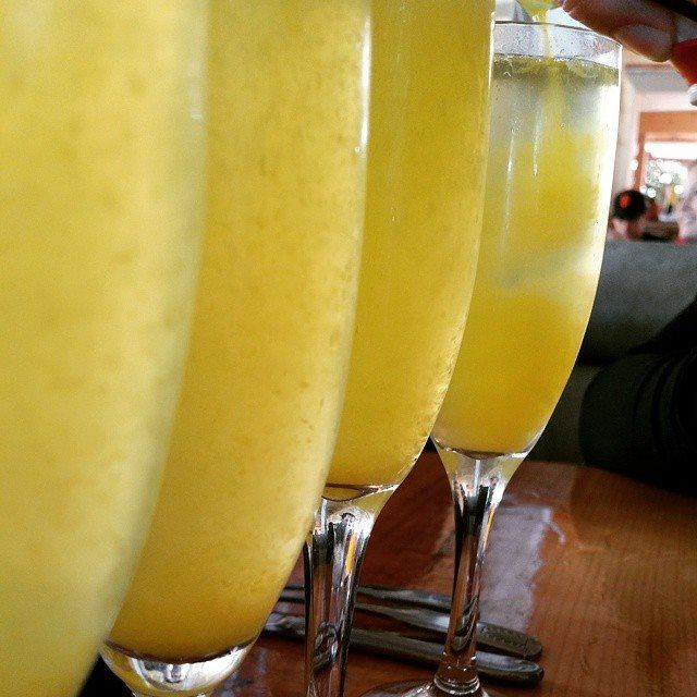 Cheers! Mouth watering mimosas, mid pour! Thanks for the great shot @ ml_street!
