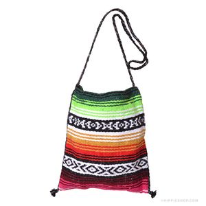 Striped Mexican Tote Bag