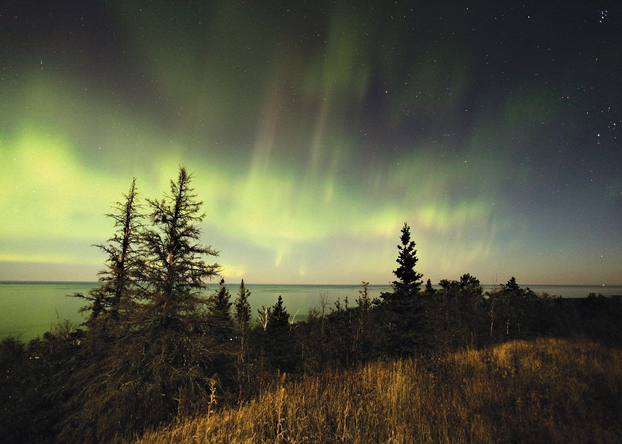 Brockway Mountain Best Place To View The Northern Lights