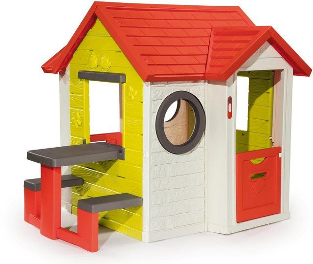 Spielhaus Mein Haus, mit Picknicktisch in 2020 Spielhaus