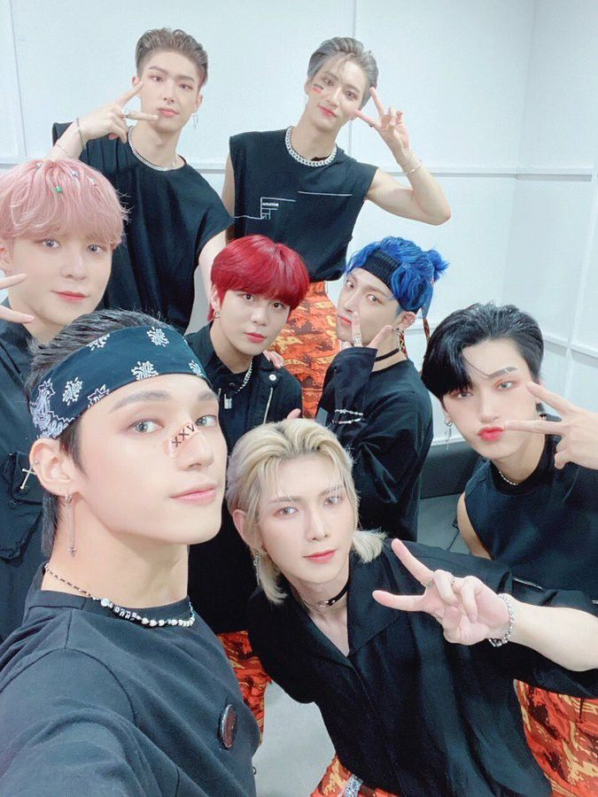 Pin By Baby Gumdrop On Ateez In 2020 Kim Hongjoong Boy Groups Woo Young