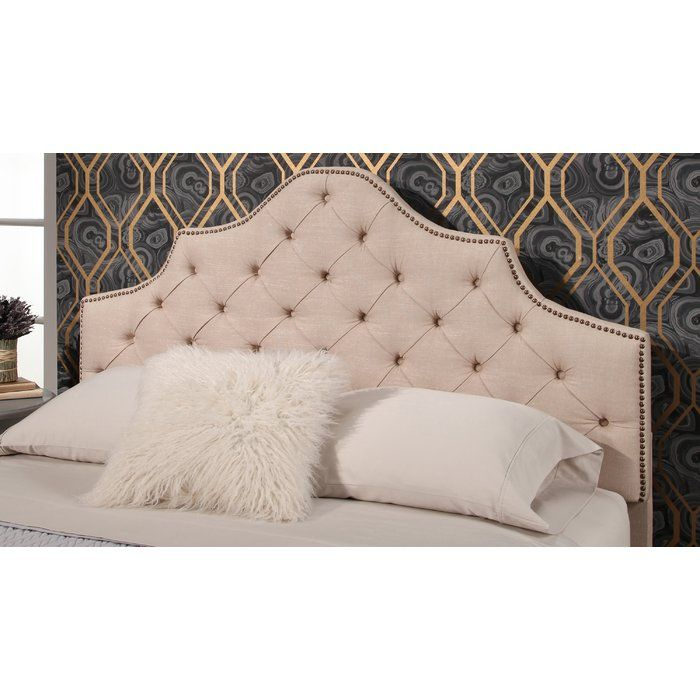Merveilleux Elegant And Glamorous, This Tufted Linen Headboard Provides The Perfect  Backdrop For Your Favorite Bedding