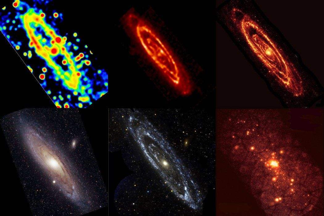 Human PERCEPTION with a Difference ••ANDROMEDA Galaxy