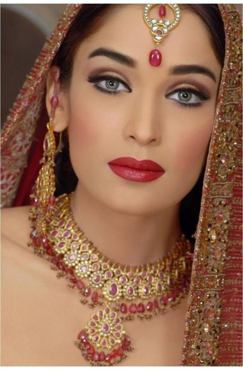 wedding day makeup for a desi bride pakistani brides makeup bridalmakeup
