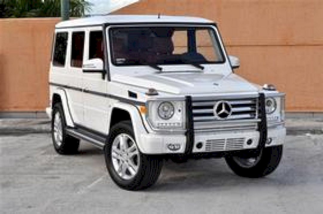 Jeep Mercedes White