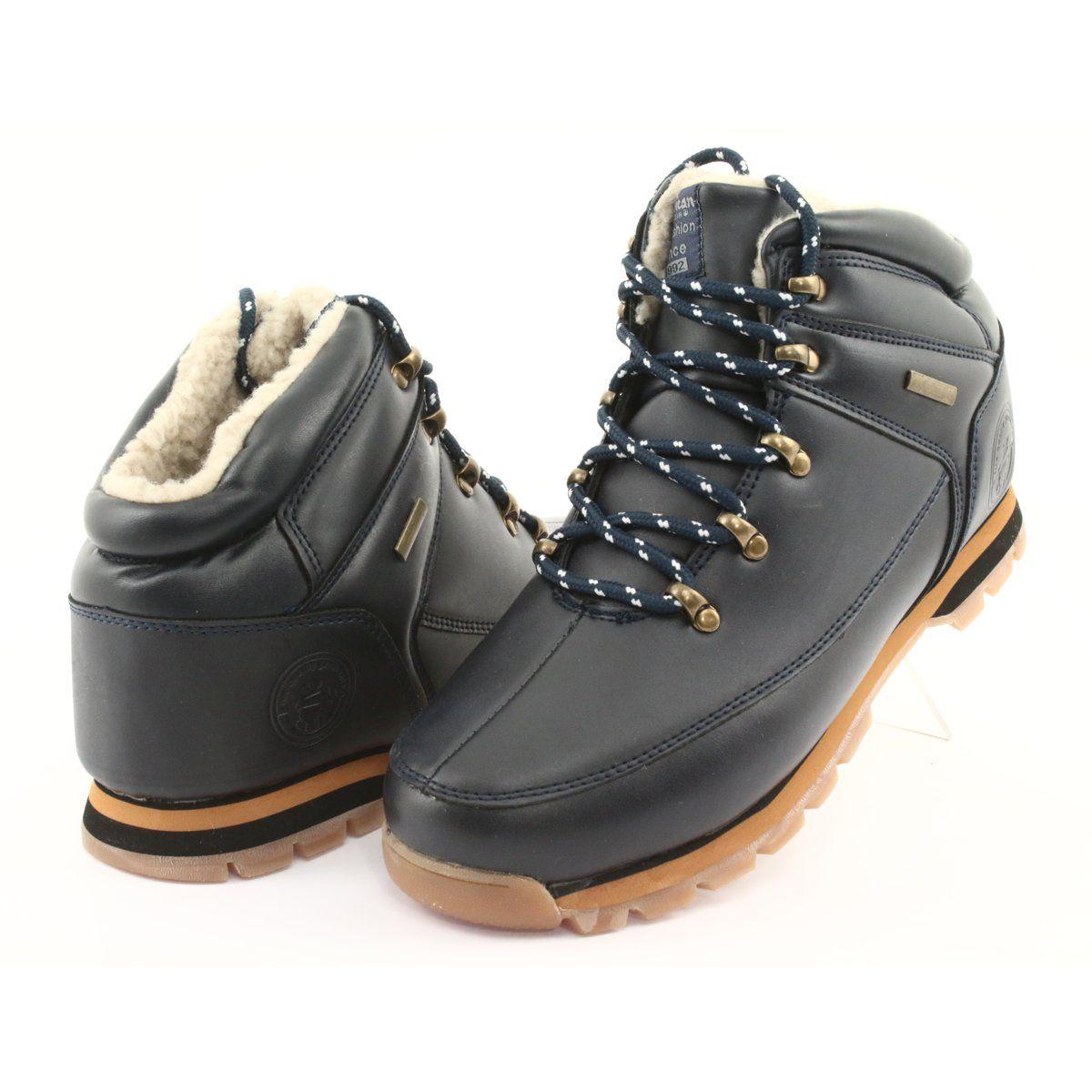 American Club Trzewiki Sznurowane Es40 Navy Granatowe Navy Blue Shoes Club Shoes Blue Shoes