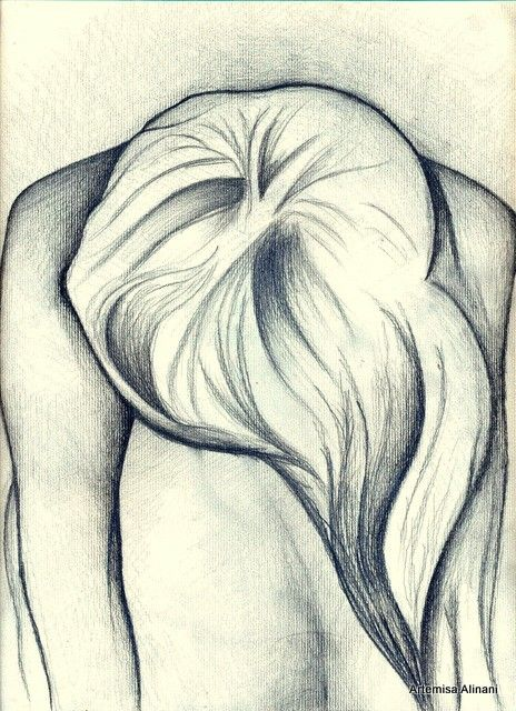 Lonely girl pencildrawingmywork