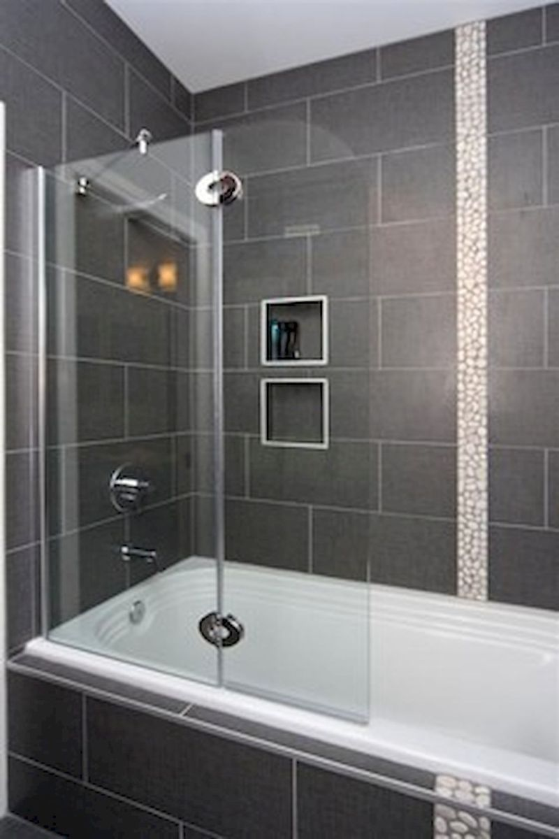 Pin By Julie Caldarera On Bathroom Remodel Ideas Bathtub Shower