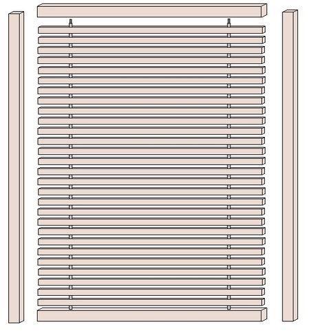 Sichtschutz Selber Bauen Die Kantholzer Montieren Construction