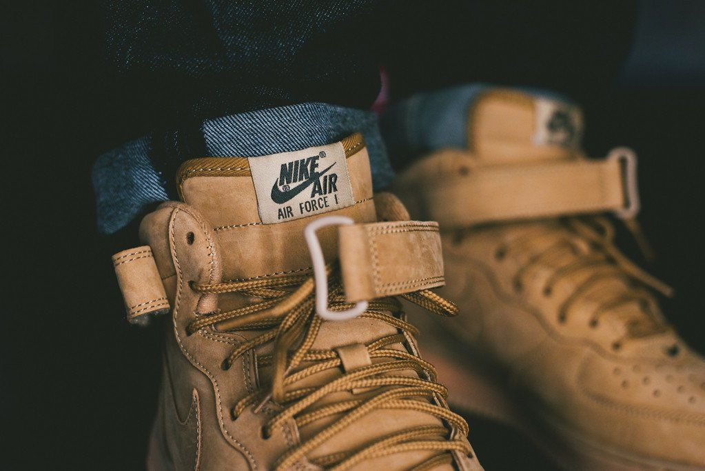 Nike Air Force 1 Flax fvshion Pinterest Nike air force