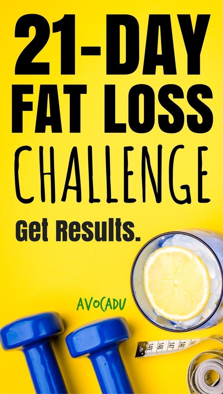 21-Day Fat Loss Challenge by Avocadu   Lose 10-21 Pounds in 21 Days   Lose  Weight Fast   Diet Plans to Lose Weight for Women ...
