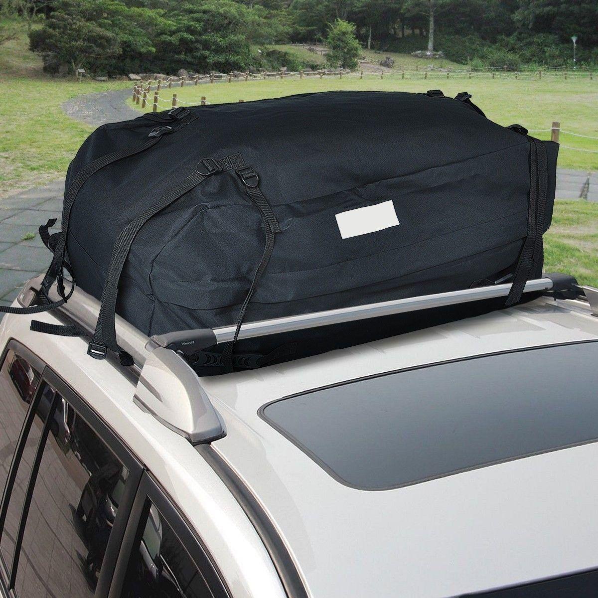 Dreamhank Black Car Van Suv Roof Top Waterproof Luggage