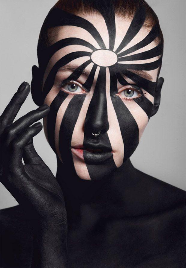 Op-Art Beauty Editorials | Costume makeup, Makeup gallery ...