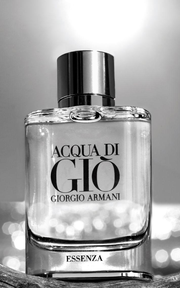 Acqua Di Giò Essenza.    visit armanibeauty.com to learn more.