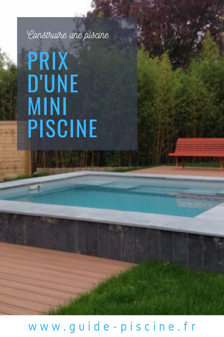 Le Prix D Une Mini Piscine Mini Budget Guide Piscine Fr Piscine 10m2 Mini Piscine Prix Piscine