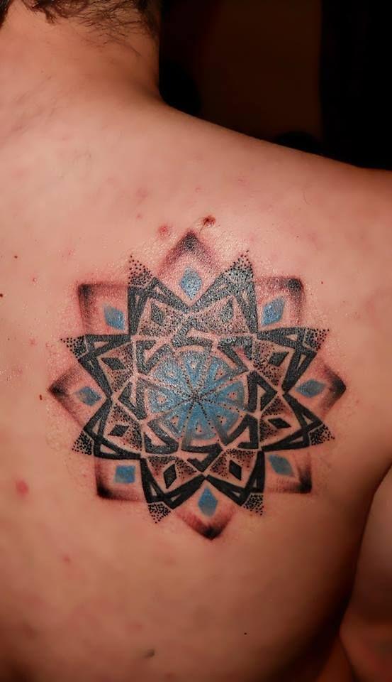 mandala tattoo...