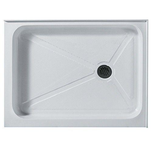 Vigo 32 X 48 In Rectangular Shower Base Right Drain White