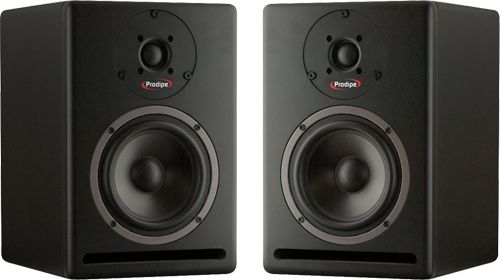 the best budget monitors money can buy musictech musictech prodipe studio monitors prodipe. Black Bedroom Furniture Sets. Home Design Ideas