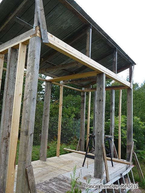 Firewood Shed 4 Steps In 2020 Firewood Shed Wood Shed Wood Shed Kits