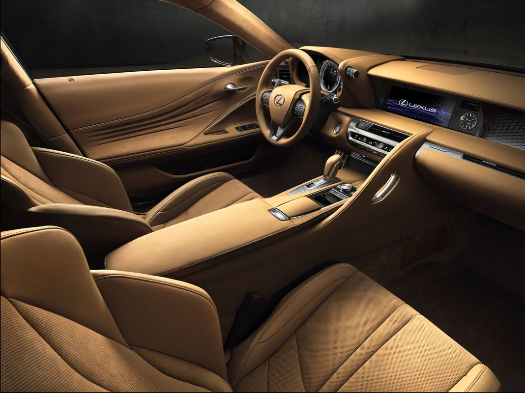 lexus lc backseat. lexus lc 500 unveiled at 2016 detroit motor show - lc backseat