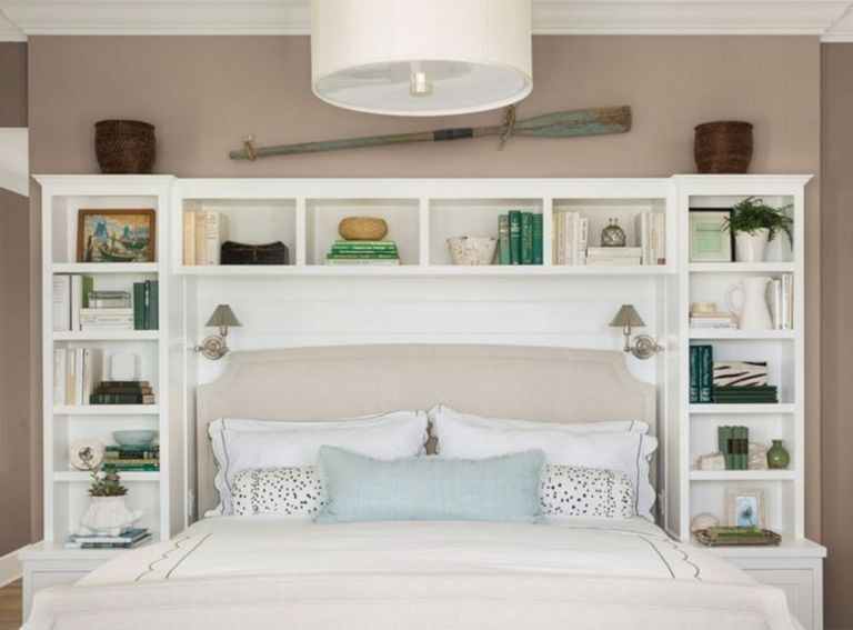 35 Diy Headboard Storage Collections For Your Perfect Bedroom