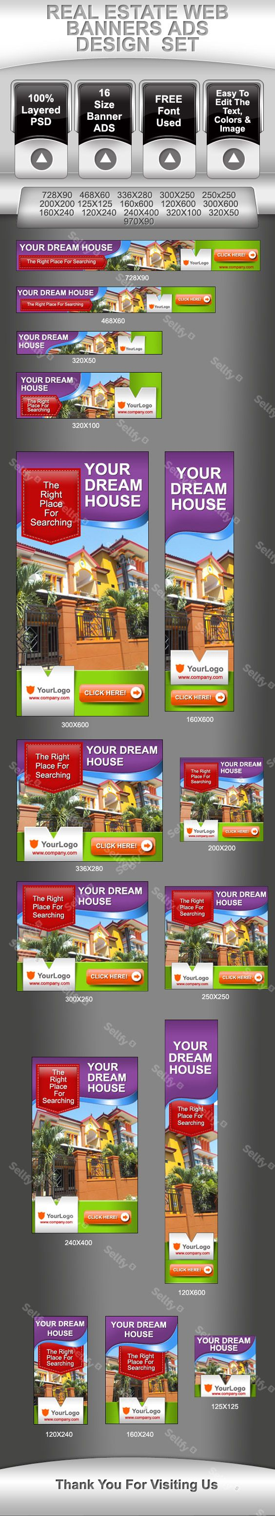 real estate advertisement template