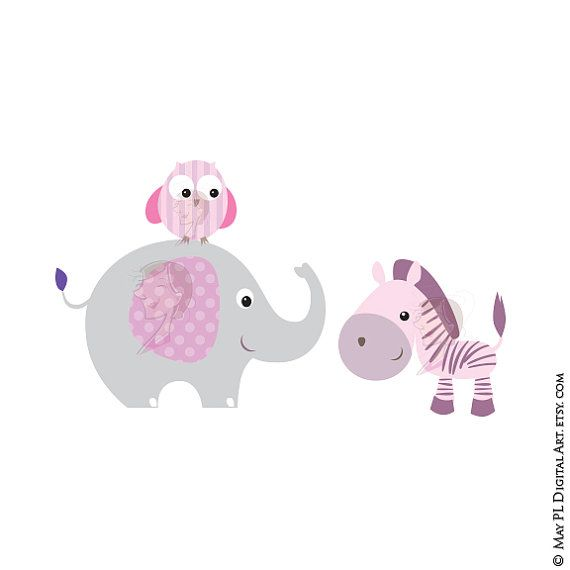 Baby Animals Clipart Free Commercial Use Cute Clip Art Etsy Animal Clipart Free Free Clip Art Animals Clipart