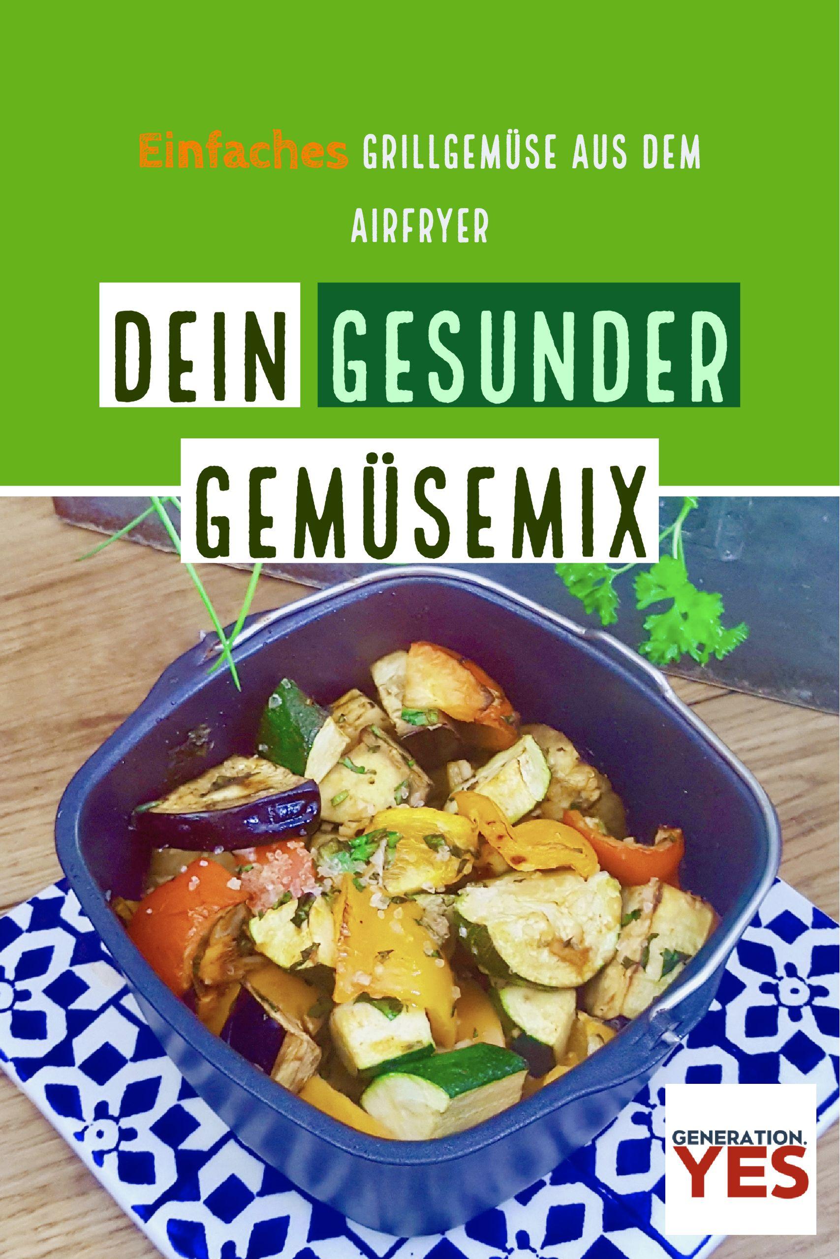 Gesunder Gemüsemix mit Pfiff | Mediterranes gemüse, Kalorienarmes ...