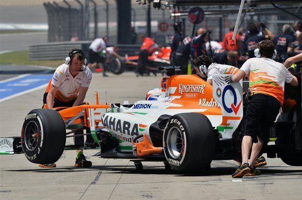 Paul Di Resta Sahara Force India
