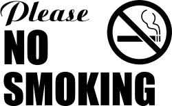 Pin On No Smoking Signs