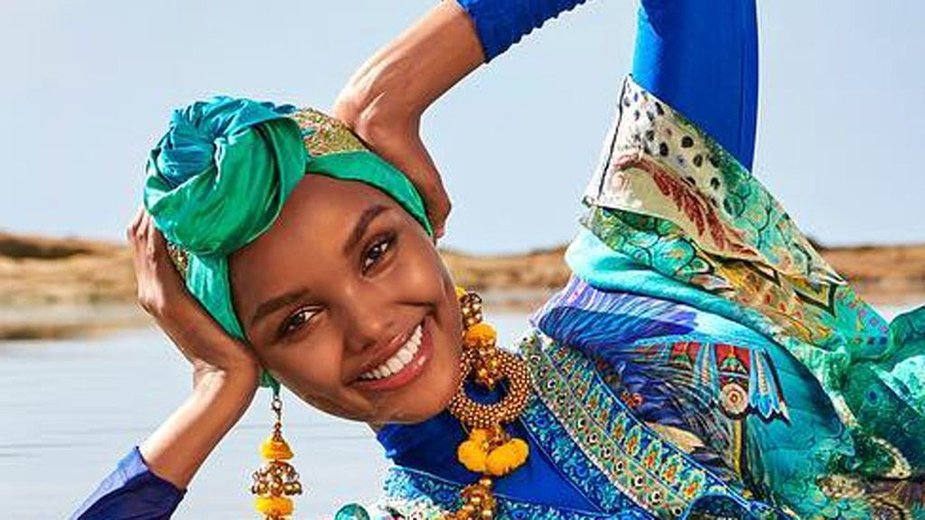 Muslim model makes history for Sports Illustrated Model