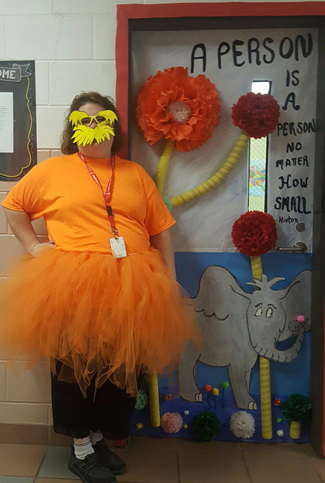 Lorax Dyi Costume Made Tutu Elastic Band And Orange Tulle