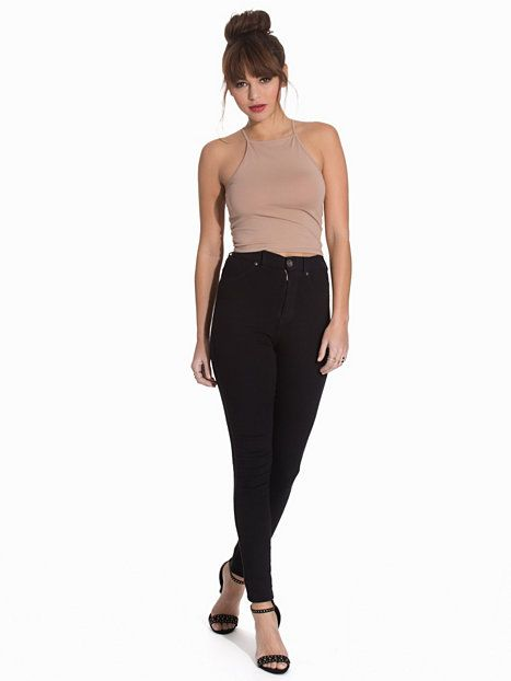 Shoppa Tight Neckline Top - Online Hos Nelly.com